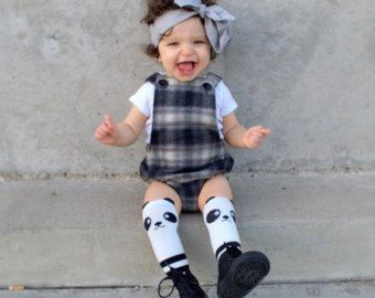 Baby-Mädchen Strampler / Baby-Strampler / von PoshKiddosapparel