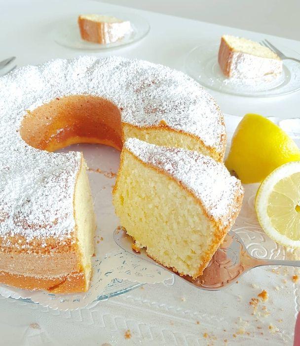 Heute hatte ich total Lust auf einen frischen, zitronigen Kuchen … aber es mus …