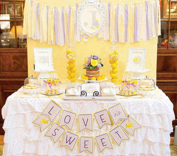 A Lovely Lemon & Lavender Bridal Shower www.MadamPaloozaEmporium.com www.facebook.com/MadamPalooza