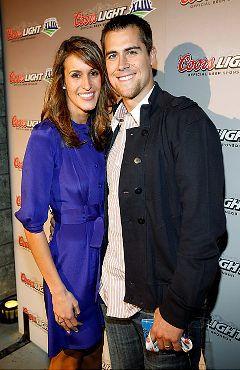 New Vikings quarterback Matt Cassel and his wife, Lauren Killian.