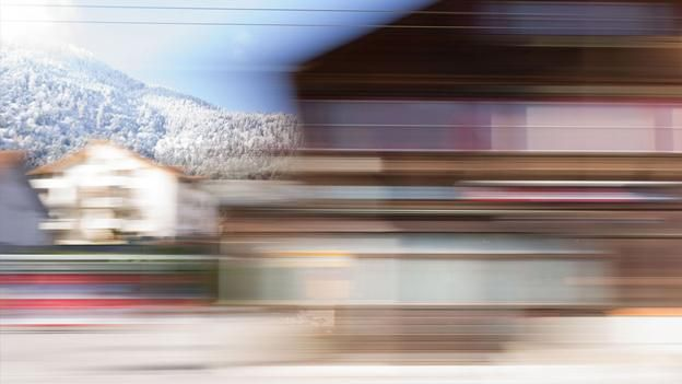 Rolf Sachs' blurred journey through the camera's eye. Does everything always have to be in focus?! Photo by Rolf Sachs
