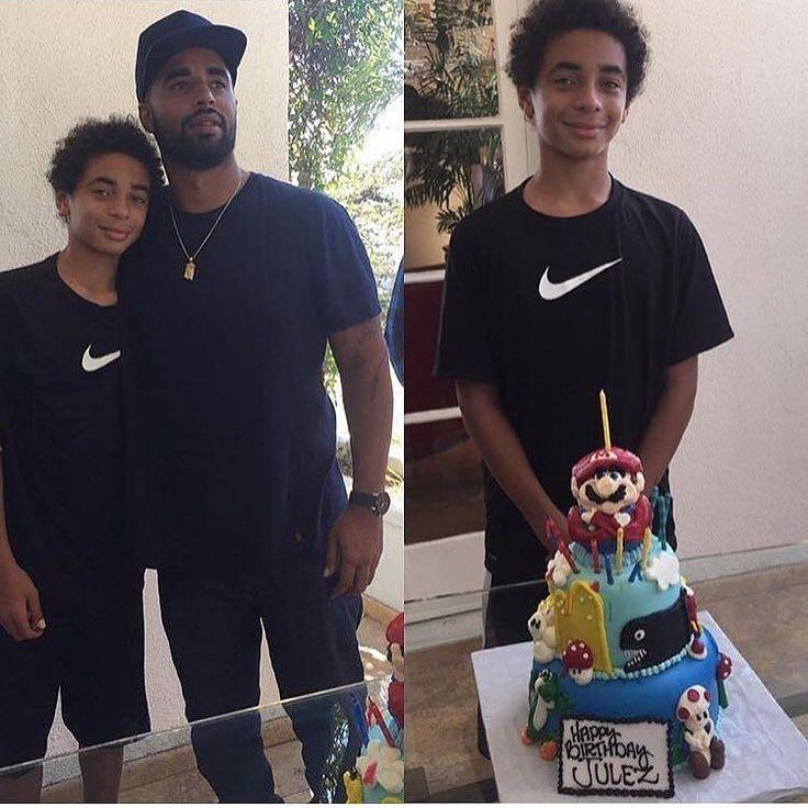 Happy Birthday! #Solange's son #Julez celebrates his bday with his daddy #DanielSmith.