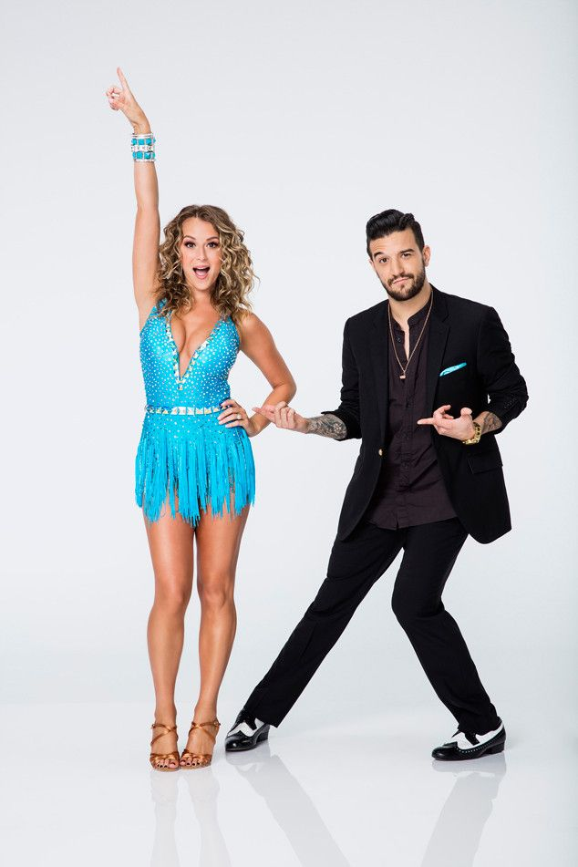 Alexa Vega from Dancing With the Stars Season 21: Check Out the Cast!  The Spy Kids star, who is partnered with Mark Ballas, is one-half of the series' first-ever married couple to compete, along with husband Carlos Pena.