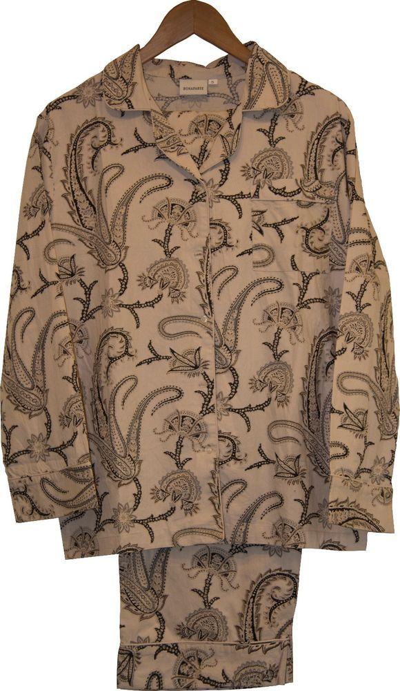 Bonaparte Linen: 100% Cotton Women's Pajamas