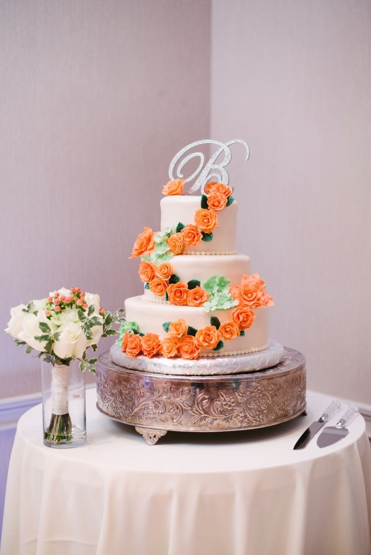 the knot 25 prettiest wedding cakes top 25 best orange wedding cakes ideas on 20853