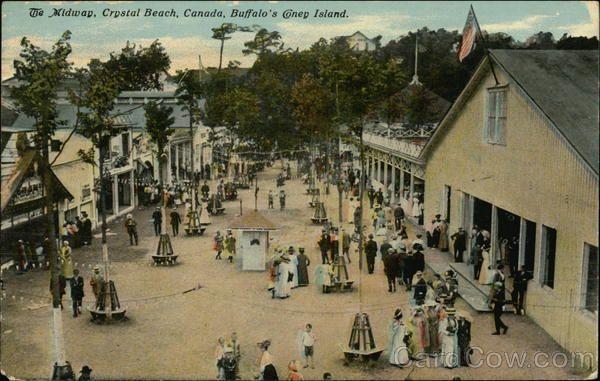 The Midway, Crystal Beach, Canada, Buffalo's Coney Island New York