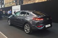 Hyundai i30 Fastback unveiled ahead of 2018 launch Third version of the i30 gets a sleek roofline and slots between the hatch and estate; it'll go on sale in 2018 from about 17000  Hyundai will add a third bodystyle to its i30 range when the Fastback launches in early 2018 to rivaltheAudi A3 SaloonandMazda 3 Fastback.  Revealed in Germany alongside the i30 N performance model the Fastback has a lower nose and sleeker roofline than its siblings mixing the lines of a five-door hatch with the…