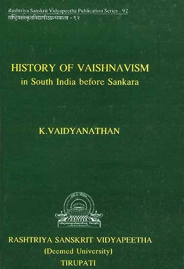 """""""The author has taken a painstaking job in minutely tracing out the sources of Vaishnavism as revealed in the Vedas, Brahmans, Upanishads, Epics, Puranas etc. The author has extensively analysed the Vaishnava movement in the south from Sangam period, besides description the doctrines of Buddhism, Jainism, and emergence of Vaishnavism and Saivism during the last millennium. Read more here: http://www.exoticindiaart.com/book/details/history-of-vaishnavism-in-south-india-before-sankara-IDK983/"""