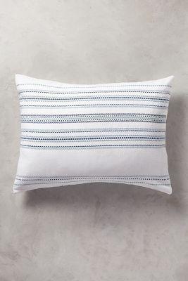 Coyuchi Geo Stripe Sham | Anthropologie