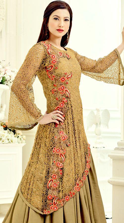 Designer Gauhar Khan Eid Special Anarkali Dress 3YS1801557  Get this dress from : https://lnkd.in/fbFRpuu  #indiabazaaronline #RoyalCollection #GauharKhan #AnarkaliSuit #Partywear #Suit #BollywoodActressesAnarkaliSuits #CelebrityCollection #DesignerAnarkaliSuits #DesignerSalwarKameez #GauharKhanDresses #EmbroideredSuits #FloorLengthAnarkali #EidSpecialAnarkaliSuit #EthnicWear #OnlineEidAnarkaliSuit #BuyAnarkaliSuits #AnarkaliSuitsForEid #BuyAnarkaliDresses #EidDresses2017