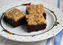 The Best Brownie Recipes are Rich, Fudgy, Chewy, Creamy, and Easy!: German Chocolate Brownies