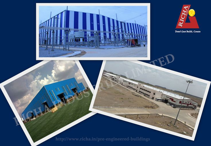 Steel building construction is taking fast pace in India due to enormous advantages associated with pre engineered steel buildings and Richa Industries Limited is one of the leading steel building construction company. Steel building construction owns some of the most attractive features like steel buildings include quick construction, quality construction, aesthetics excellence, architectural versatility and low maintenance cost to develop a building with high strength.