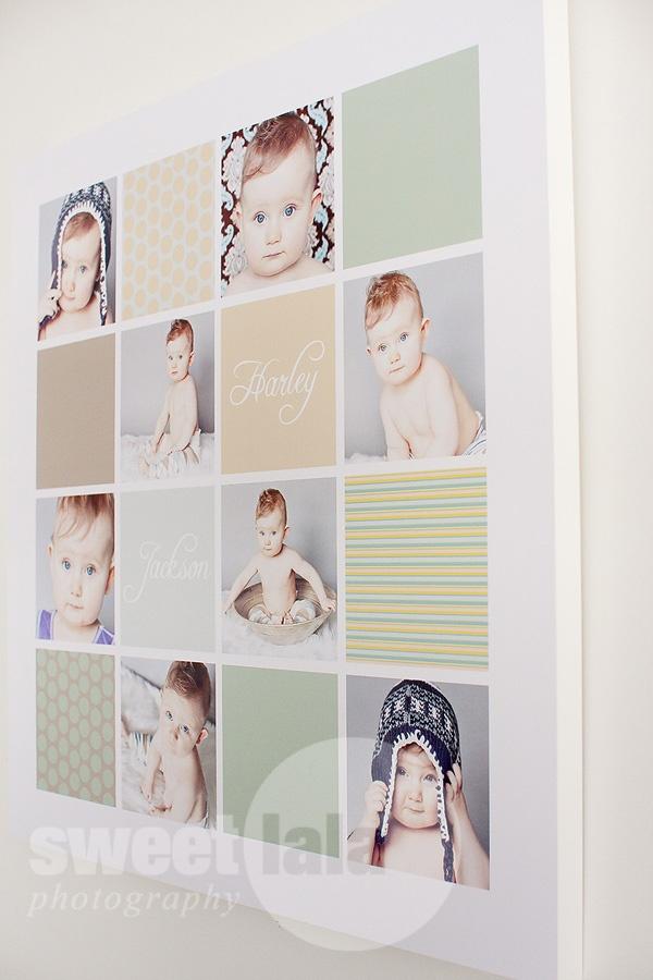 great photo collage idea
