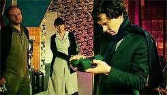 When they tried to solve a crime and John and Sherlock were competing for most adorable drunk.