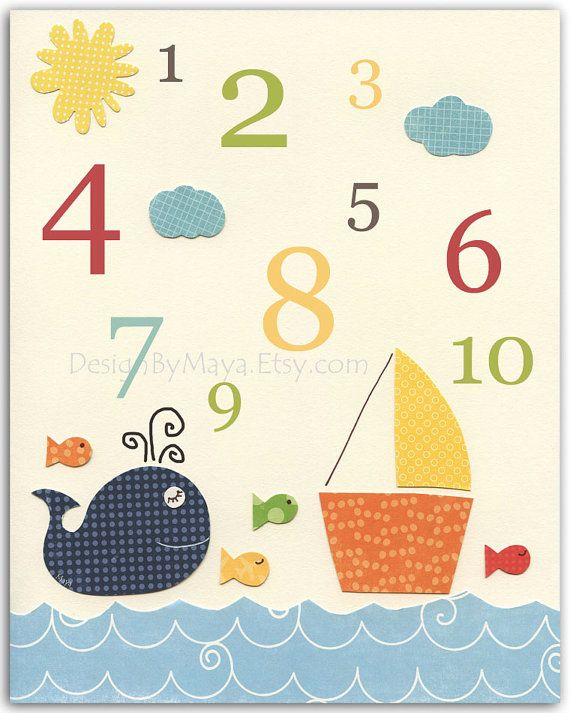 Fish wall decor pinterest : Best images about fish themed nursery on