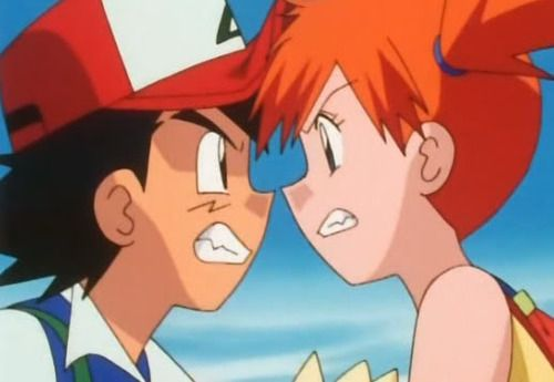Ash and Misty Oh the Memories :')
