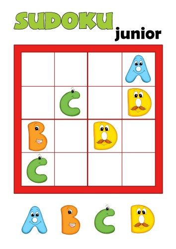 Alphabet Letters Sudoku Puzzle and Alphabet Letters Song for Kids!