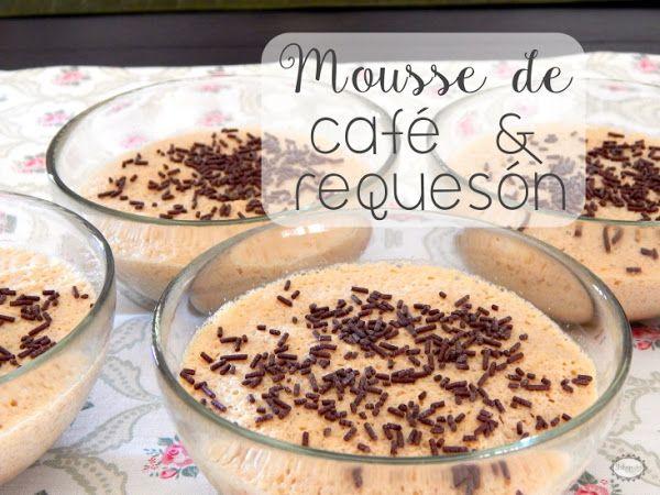 Mousse de café y requesón light | Cocinar en casa es facilisimo.com