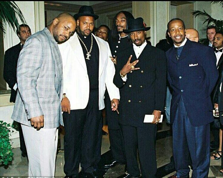 Suge Knight Tupac Snoop Dogg & MC Hammer
