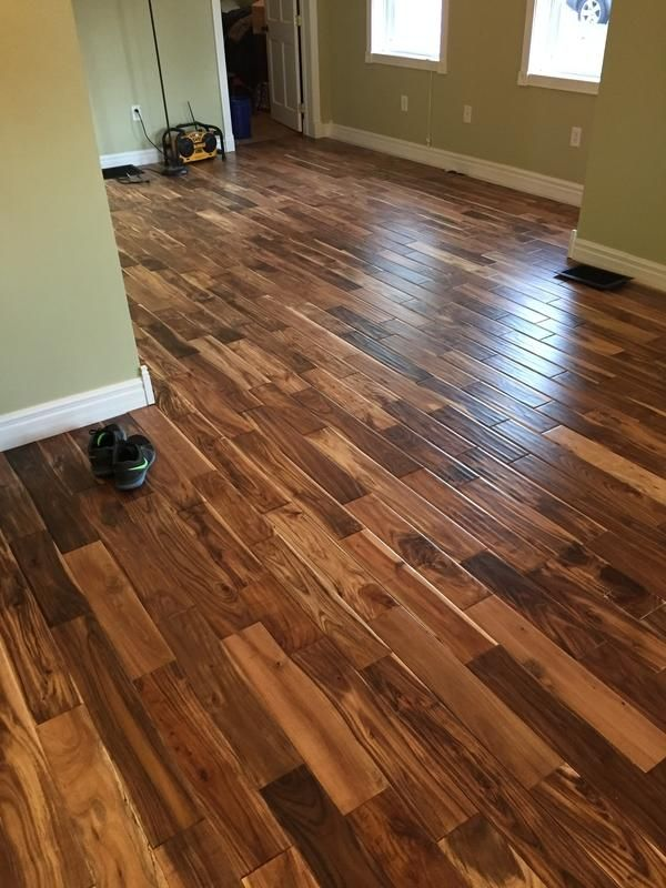 Reminiscent of the charming handcrafted floors in for Tobacco road acacia wood flooring
