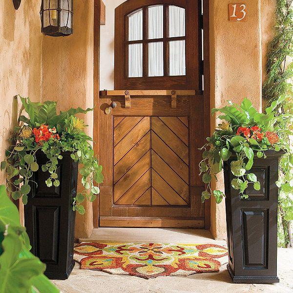 84 Best Patio Planters Images On Pinterest Patio