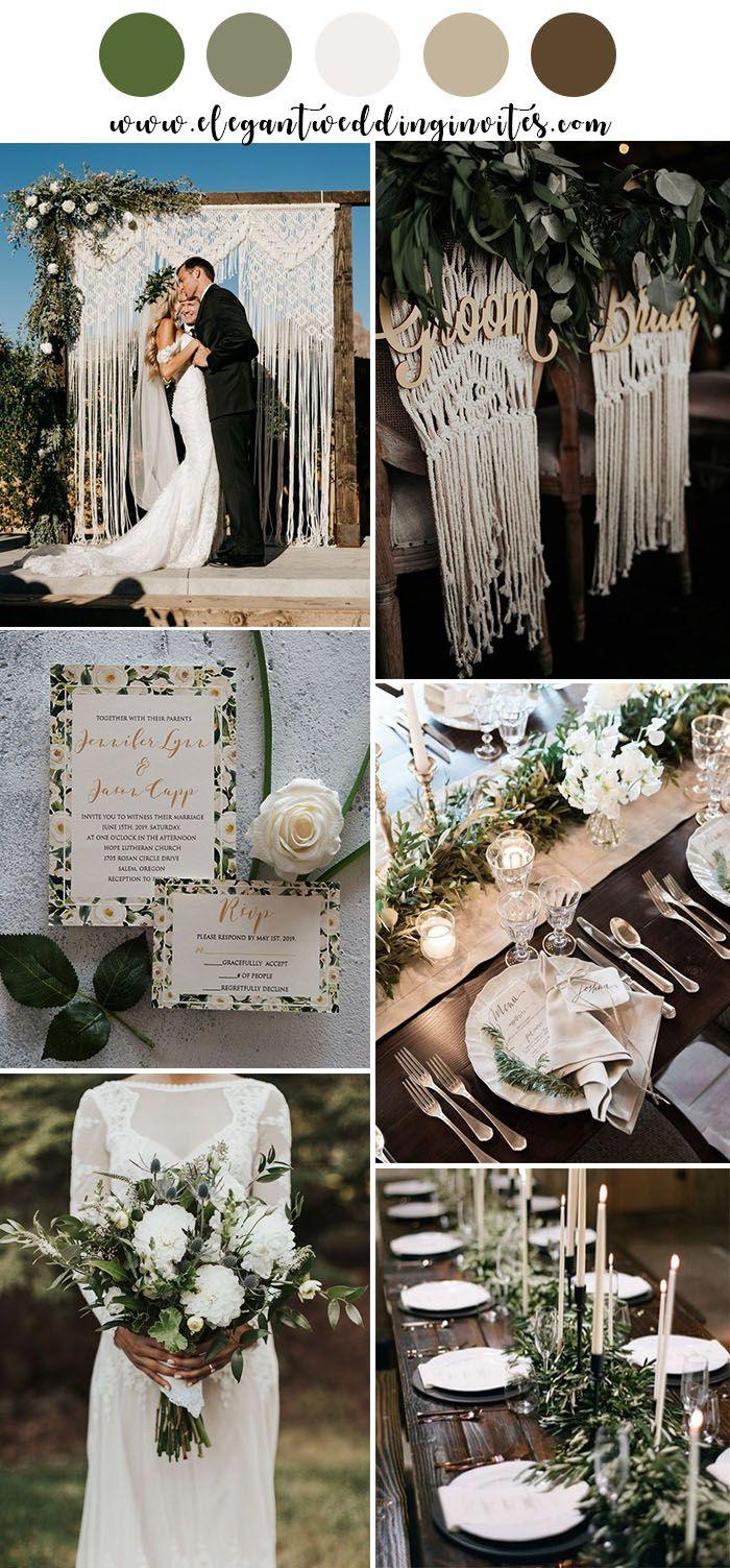Moody Boho Chic Wedding Ideas With Matching Floral Wedding Invites Elegantweddinginvites Com Blog Boho Wedding Theme Boho Wedding Colors Rustic Modern Wedding