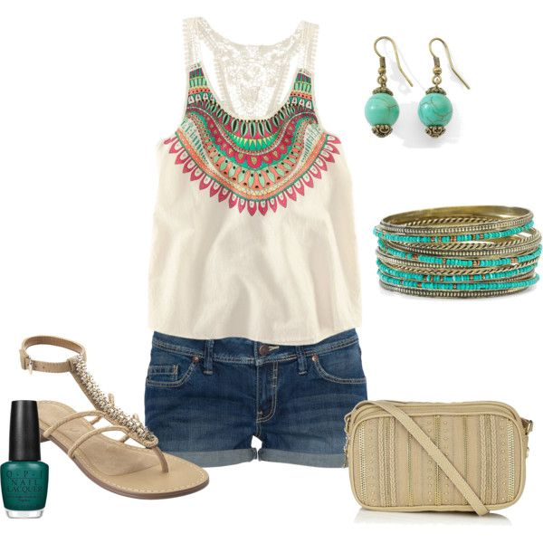 cute top and bracelet: Summer Style, Style Icy, Cute Outfit