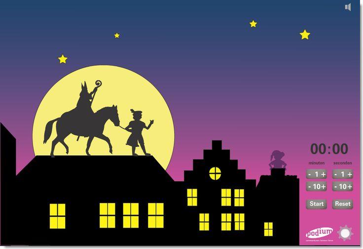 EduTip: Time Timer in Sinterklaas sfeer http://www.schoolbordportaal.nl/data/timer%20time/index.php?id=sint #onderwijs #digibord