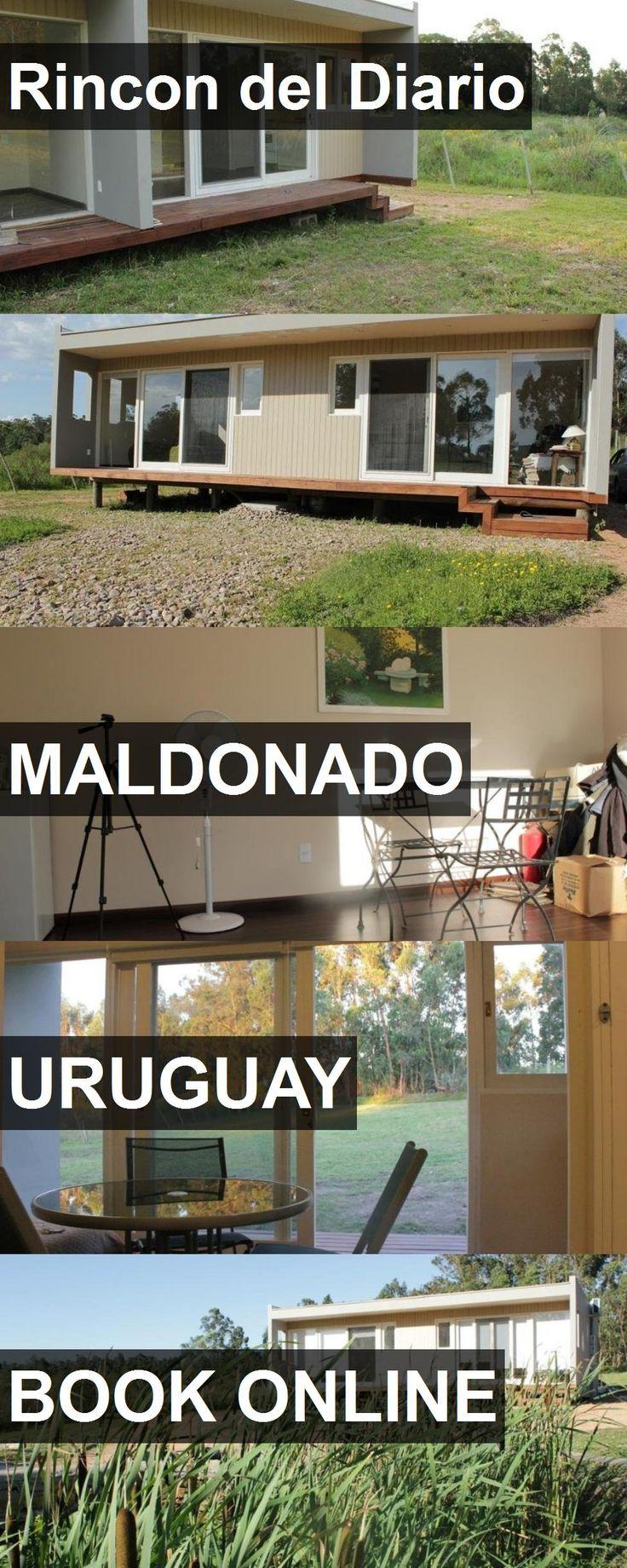 Hotel Rincon del Diario in Maldonado, Uruguay. For more information, photos, reviews and best prices please follow the link. #Uruguay #Maldonado #travel #vacation #hotel