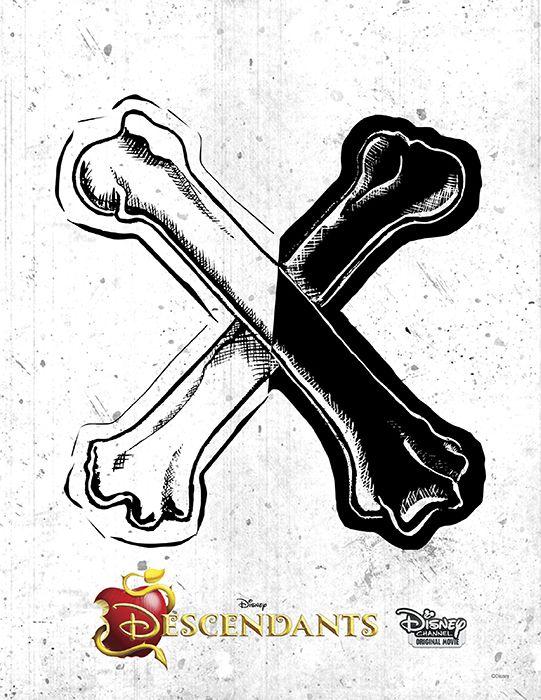 descendants icons | Logos – Emblemas de Los Descendientes | Todo Peques