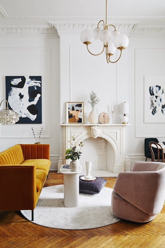 These Art Deco Living Room Ideas Will Transport You To Another Era Hunker In 2020 Art Deco Living Room Vintage Living Room Living Room Interior