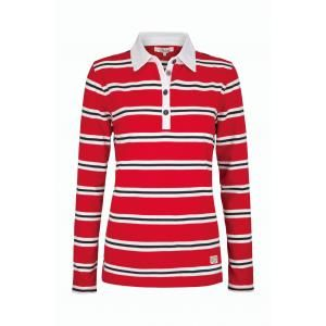 Dubarry Carrick Womens Rugby Top - £41.50 www.countryhouseoutdoor.co.uk - Long sleeve women's striped rugby top.