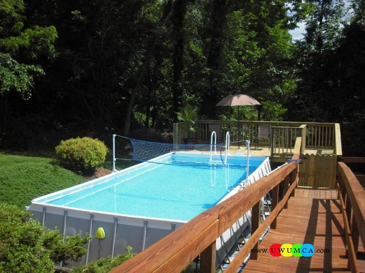 swimming poolpool decks gorgeous intex pools with decks also swimming pool volleyball net and deluxe resin swimming pool ladder pads above ground - Intex Above Ground Pool Decks