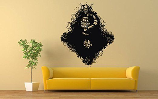14 best Masks Martial Arts Warriors Wall Stickers Decals images on ...