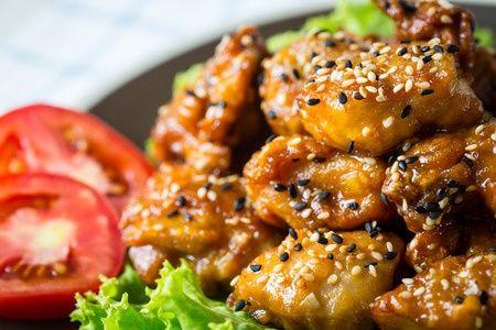 #recette du poulet au citron et au sésame !