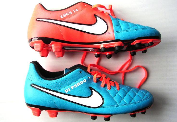 Scarpe calcio Nike Tiempo FG Personalizzate Custom