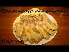 Фаршированная цветная капуста в мультиварке, простой рецепт вкусной фаршированной капусты. Рецепты для мультиварки   Состав: 1 качан цветной капусты (вес около 1 кг.), 1 морковь, 1 луковица, 1 томат, 400 грамм - мясного фарша (свинина+говядина), 1 яйцо, 1,5 ч.л. - соли ( в фарш), 2 столовые ложки сметаны (или майонеза) + 0,5 ч.л. соли, 70 грамм - твердого сыра. Показать полностью…