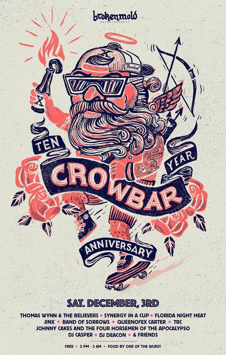 Crowbar Ten Year Anniversary by Conrad Garner