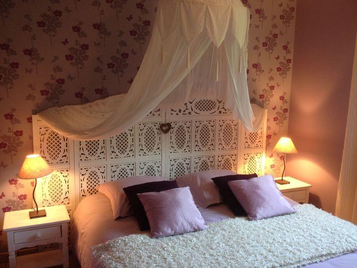 Chambre Floris Le Clos du Hêtre. romantic room