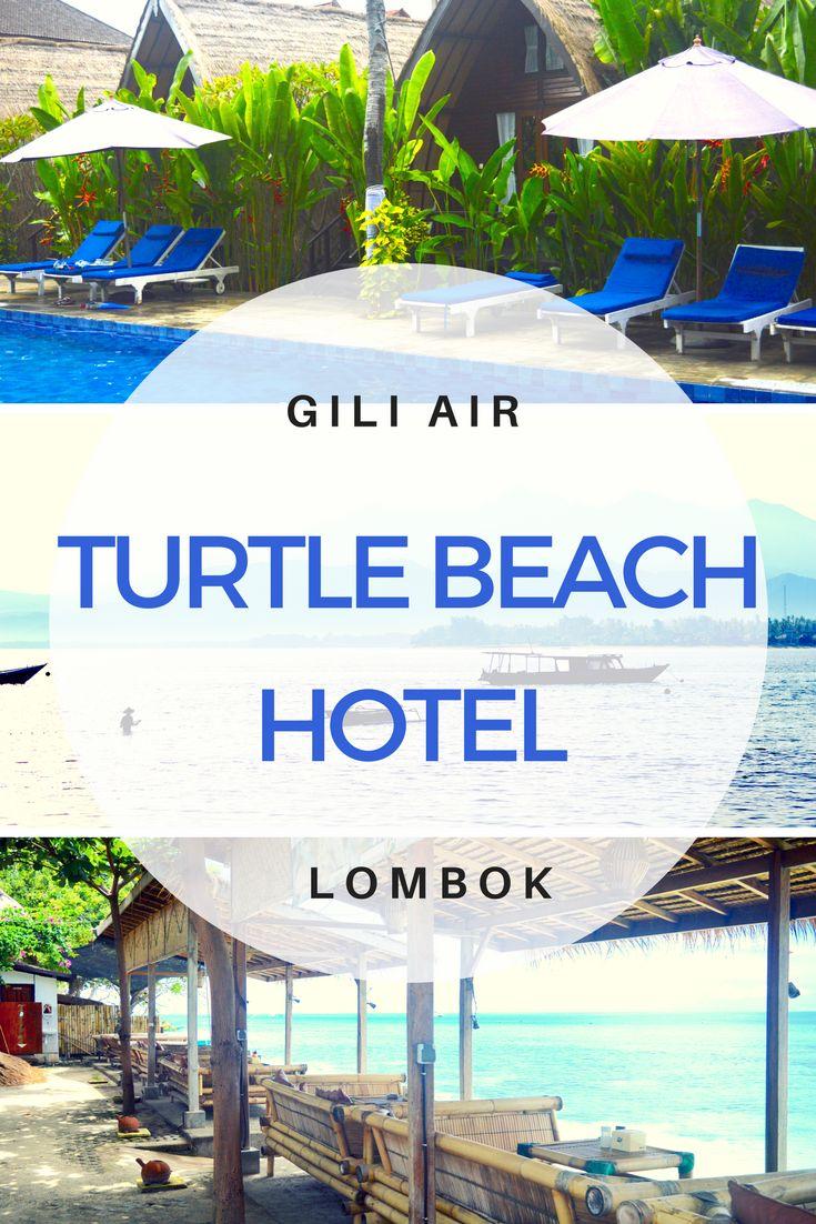 Gili Air Accommodation - Turtle Beach Hotel & Restaurant