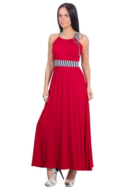 Платье морское. Платье- сарафан, с завышенной талией, пояс и завязка на лифе в полоску, юбка в пол, немного присобрана у пояса. Платье хорошо садится на фигуру, скрывая все недостатки.