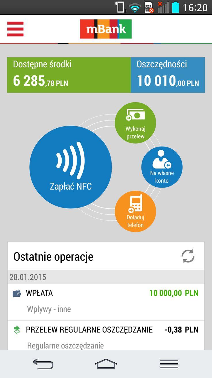 Nowy pulpit - aplikacja mobilna mBank