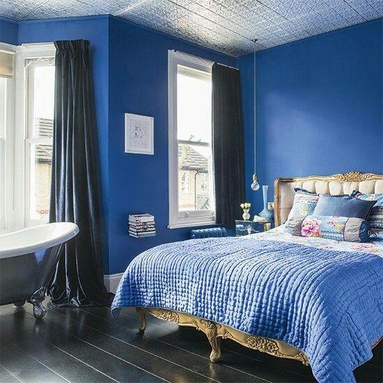 Romantische Schlafzimmer, Schöne Schlafzimmer, Blaue Schlafzimmer,  Hauptschlafzimmer, Polsterbetten, Schlafzimmerdeko, Schlafzimmer Ideen,  Wohnzimmer Ideen, ...