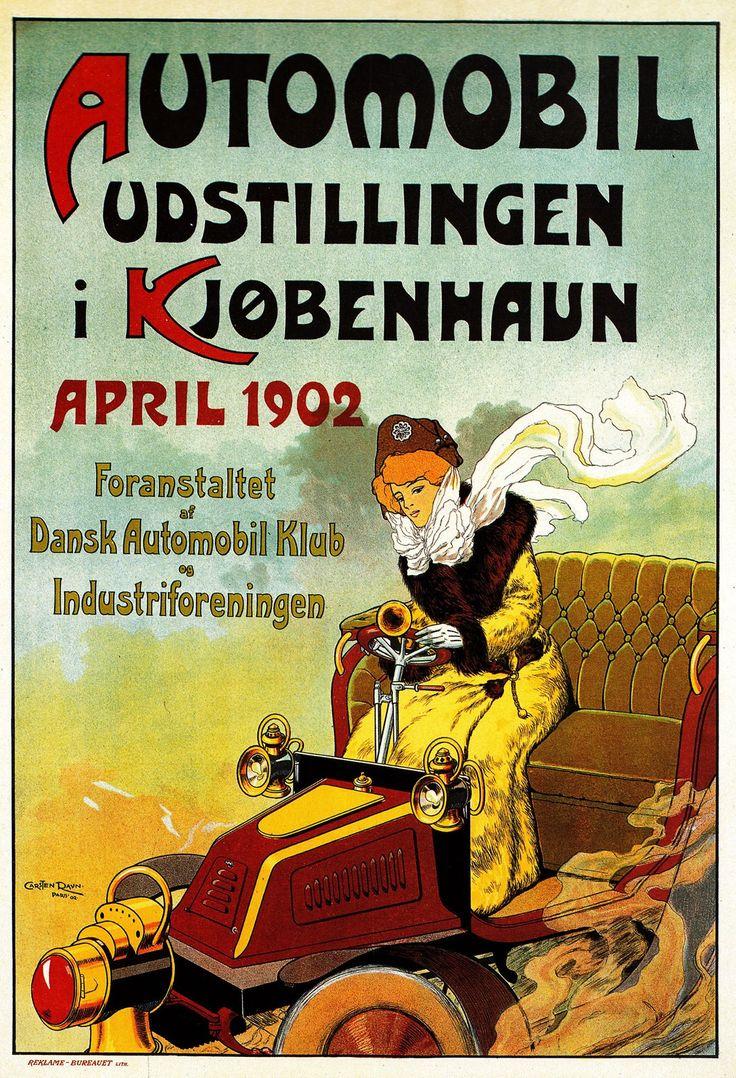 Automobiludstilling 1902 - Carsten Ravn