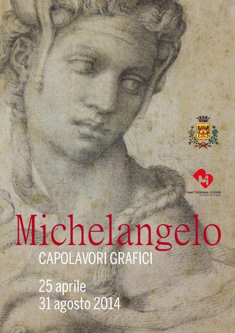 Testimonial della mostra è la mitica CLEOPATRA, dal disegno compreso nel gruppo di fogli realizzati da Michelangelo a titolo non di progetto o studio, bensì di dono.