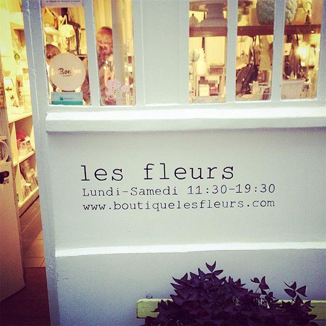 Les fleurs 6 passage Josset – 75011 Paris