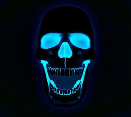 Neon Glow skull Nifty Pinterest #1: 5f14bb0e76ee2c2826ca e368fc9
