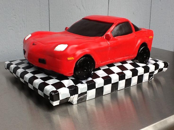 11 best Cakes Corvette images on Pinterest Corvette cake