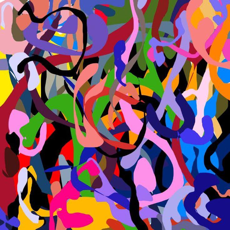 "Saatchi Art Artist Richard Brandão; Printmaking, ""WONDERLAND Nº 05 - Limited Edition 1 of 1"" #art"
