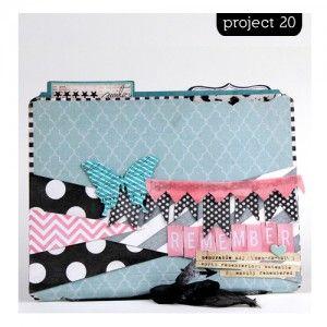 101 Ideas >> Heidi Swapp Project Idea #20 @Lindsay Dillon Bateman